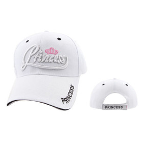 White Princess Wholesale Baseball Hat
