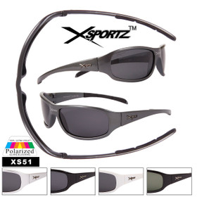 Xsportz™ Polarized Sports Sunglasses Wholesale - Style #XS51