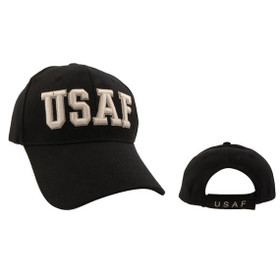 Black Wholesale USAF Cap