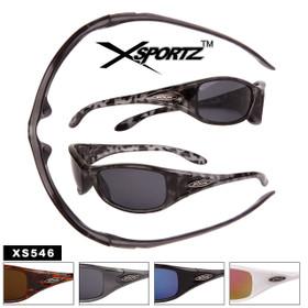 Xsportz™ Sport Sunglasses by the Dozen - Style #XS546