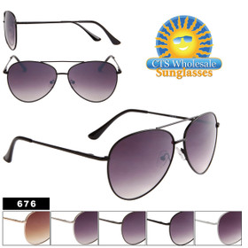 Wholesale Metal Framed Aviators 676