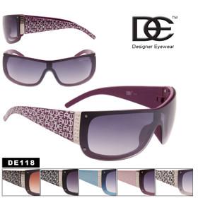 Wholesale Stunners Sunglasses - Style #DE118 (Assorted Colors) (12 pcs.)