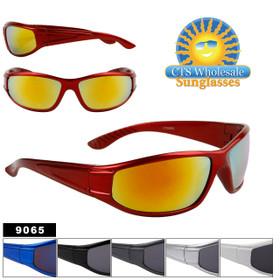 Men's Sports Style Bulk Sunglasses - Style #9065