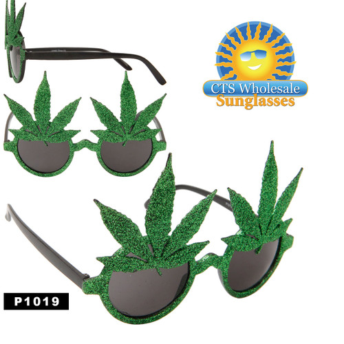 Pot Leaf Sunglasses