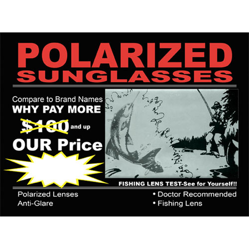 Polarized Sunglasses Sign PS1