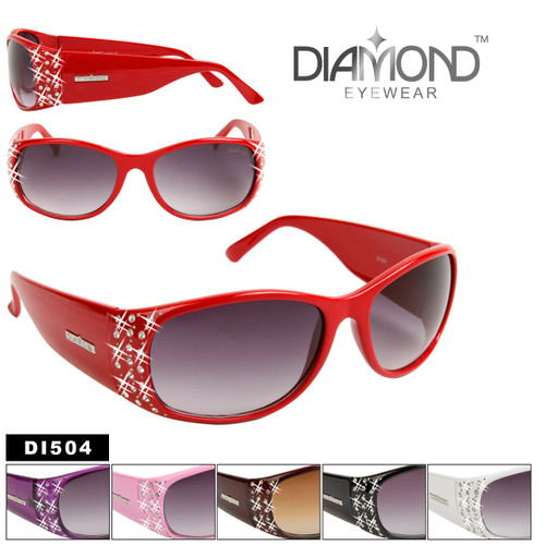Diamond Brand Wholesale Rhinestone Sunglasses DI504
