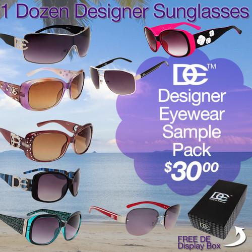 DE Sample Pack Sunglasses