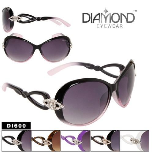 Diamond Eyewear™ Rhinestone Sunglasses DI600