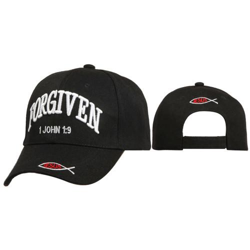 Christian Hats Wholesale ~ Forgiven ~ Black