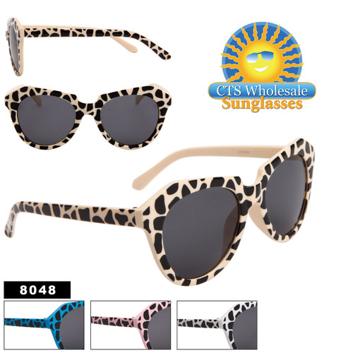 Women's Fashion Sunglasses Wholesale - Style # 8048