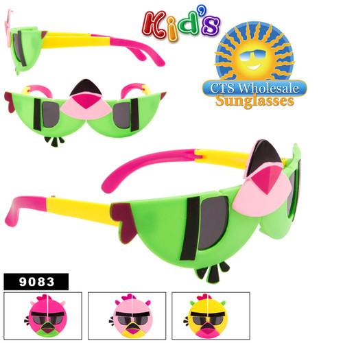 Wholesale Folding Kid's Sunglasses - Style #9083