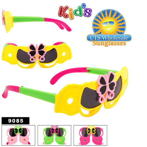 Kid's Wholesale Folding Sunglasses - Style #9085