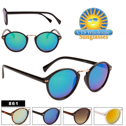 Mirrored Sunglasses in Bulk - Style #861