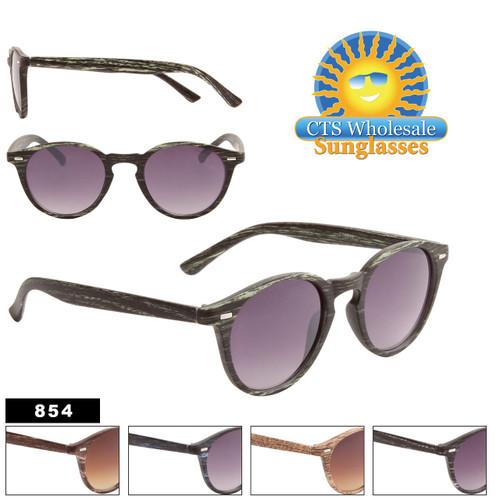 Wholesale Wood Sunglasses - Style #854