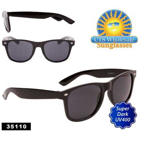 Black California Classics Sunglasses by the Dozen - Style #35110