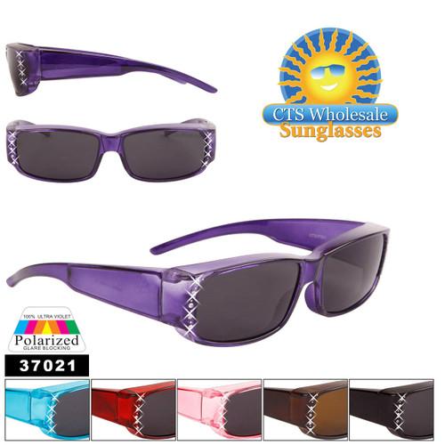 Wholesale Polarized Over Glasses Sunglasses - Style #37021