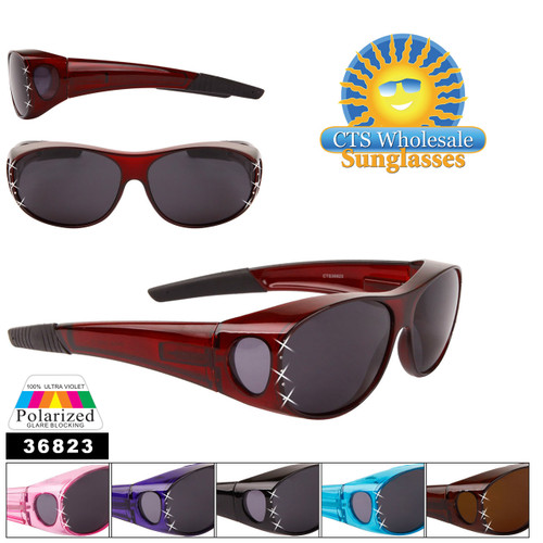 Wholesale Polarized Over Glasses Sunglasses - Style #36823