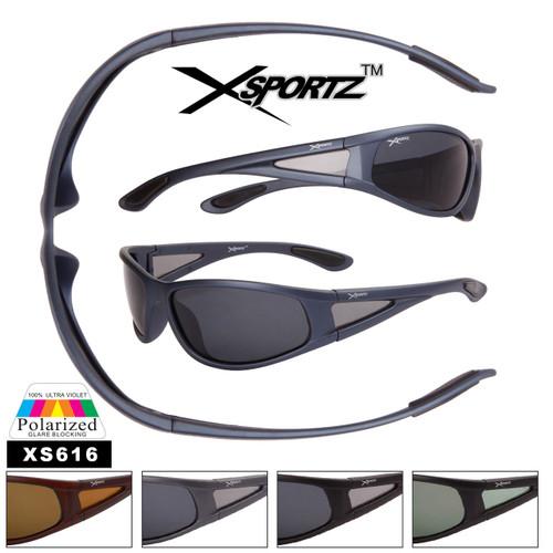 Men's Polarized Xsportz™ Sunglasses - Style #XS616