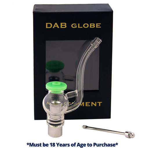 Dab Globe Attachment Atomizer | Wax & Oil | 510 Thread