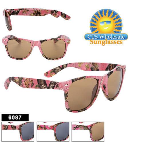 Pink Camouflage Classic Sunglasses - Style #6087
