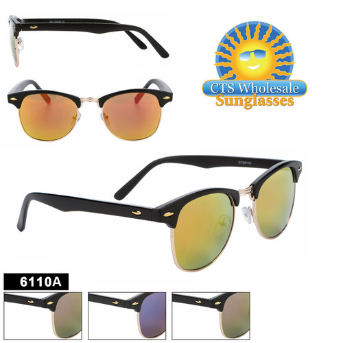 Mirrored Soho Sunglasses - Style #6110A