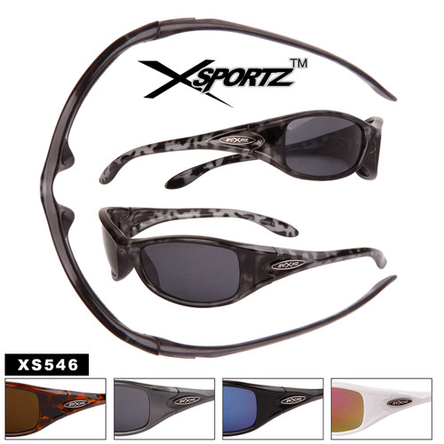 Xsportz™ Sport Sunglasses by the Dozen - Style #XS546