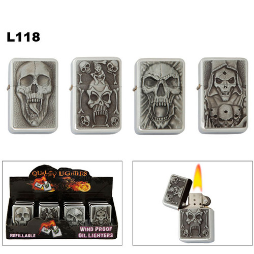 Wholesale Lighters featuring Skulls