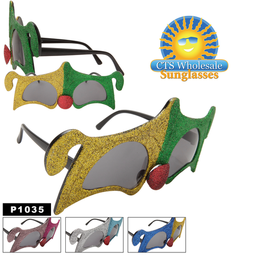 """Fun New """"Jester"""" Party Glasses"""