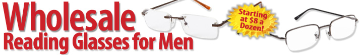 Men's Wholesale Reading Glasses