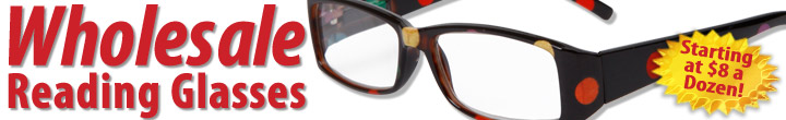 Wholesale Reading Glasses at CTS