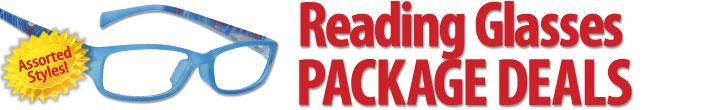 Wholesale Reading Glasses Package Deals
