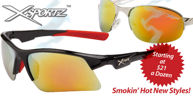 Wholesale Xsportz™ Sunglasses
