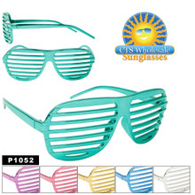 Metallic Shutter Shades