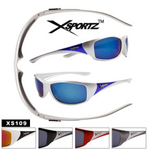 Xsportz™ Wholesale Sports Sunglasses - Style XS109