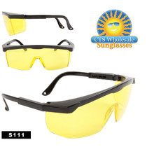 Driving Glasses with Yellow Lenses