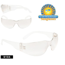 Clear Lens Safety Glasses S104