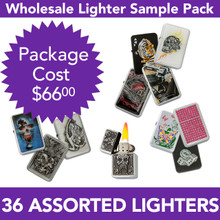 36 Assorted Lighters | Display Boxes Included