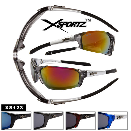 Men's Sports Sunglasses Wholesale - Style # XS123