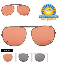 2037 Metal Clip On Sunglasses