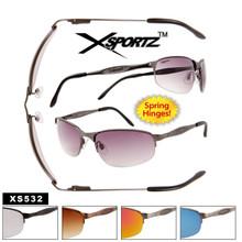 Xsportz™ Spring Hinge Metal Sunglasses XS532