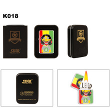 Reggae Guy w/Pot Leaf T-Shirt Lighter K018