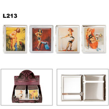 Cigarette Cases L213 ~ Pin Up Girls