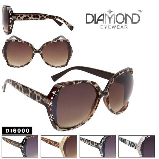 Animal Print Rhinestone Sunglasses DI6000