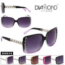 Rhinestone Wholesale Sunglasses - Style # DI6010