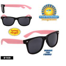 Black & Pink Wholesale California Classics Sunglasses - Style # 8169