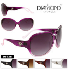 Diamond™ Rhinestone Wholesale Sunglasses - Style # DI138