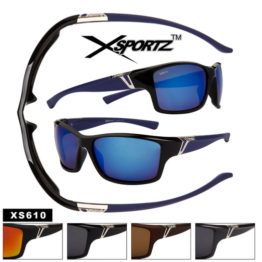 Wholesale Xsportz™ Sunglasses by the Dozen - Style # XS610