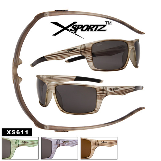 Men's Sport Sunglasses Wholesale - Style # XS611