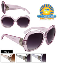 Oversized Fashion Sunglasses - Style # 839