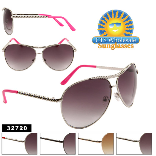 Aviator Sunglasses by the Dozen - Style # 32720